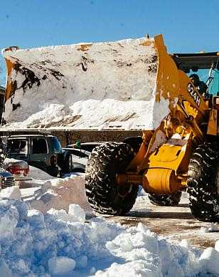 Snow Ice Plowing